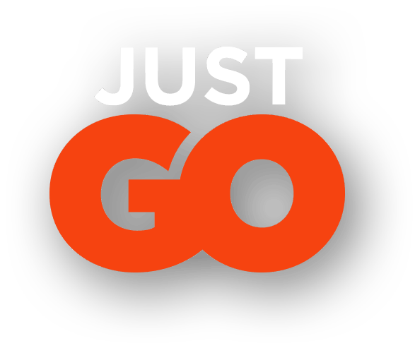 Tagline: Just Go (Deep Orange)