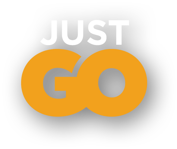Tagline: Just Go (Golden Yellow)