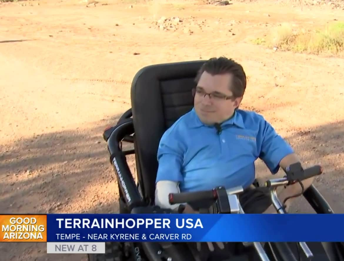 off road mobility vehicle blog - Tempe company breaking barriers for individuals with disabilities with off-road mobility vehicle