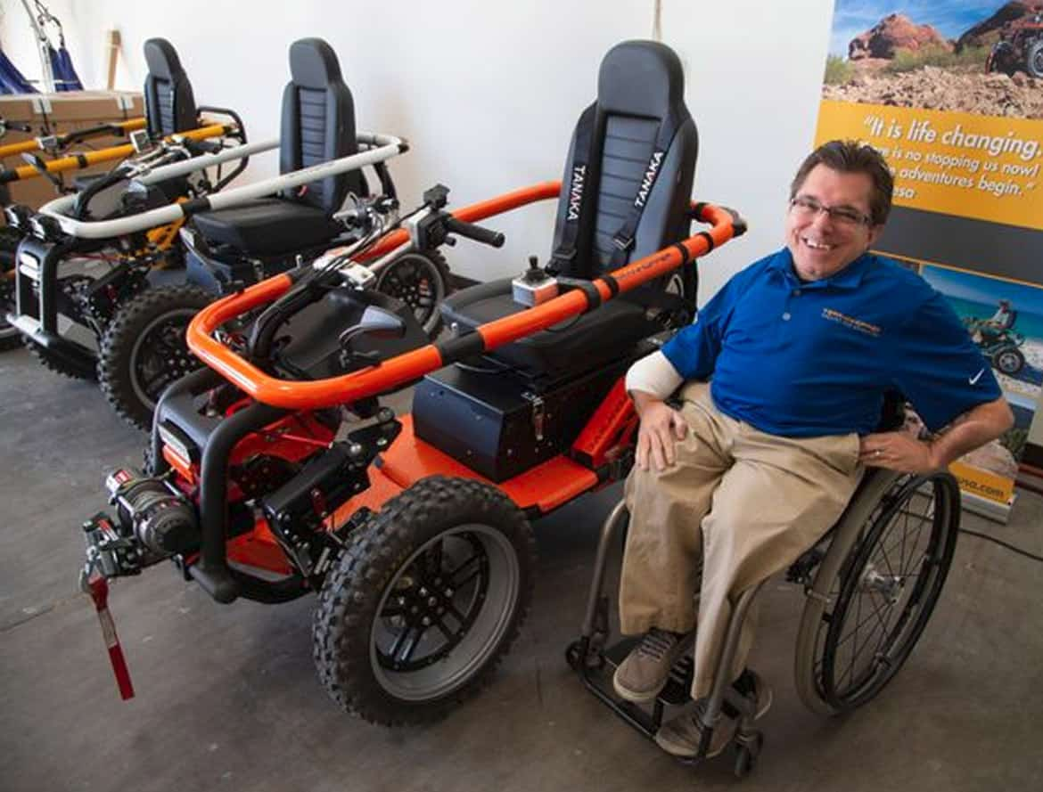 terrainhopper usa - TerrainHopper USA lets the mobility challenged forge their own path