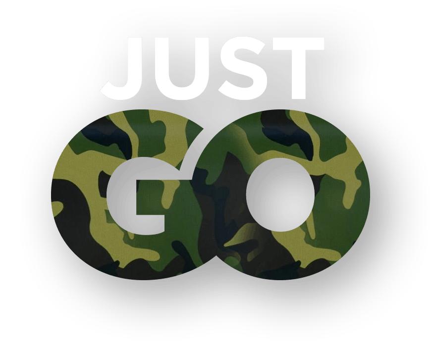 Tagline: Just Go (Cammo)