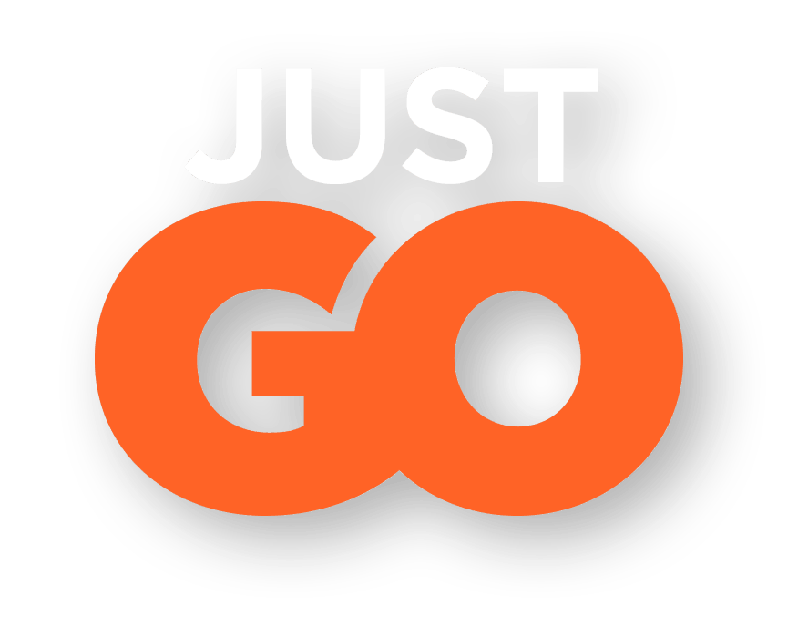 Tagline: Just Go (Orange)