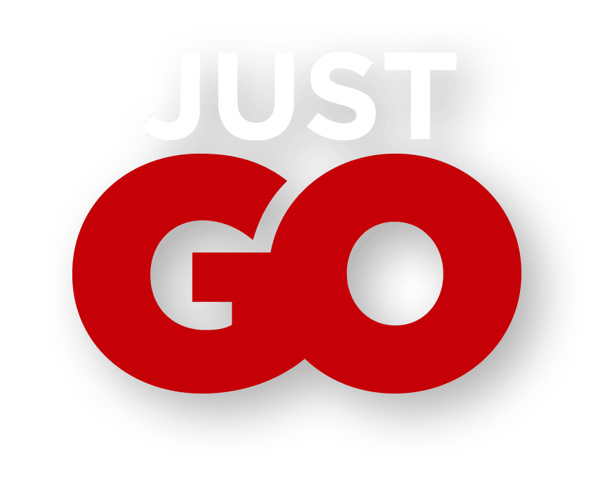 Tagline: Just Go (Red)