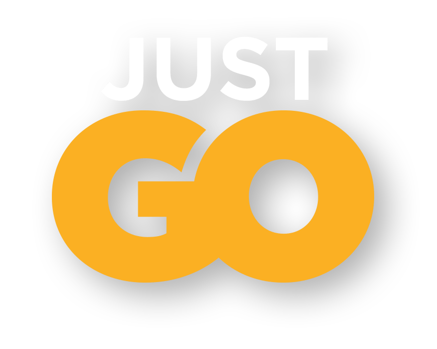 Tagline: Just Go (Yellow)