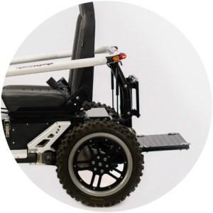 Options: Rear platform