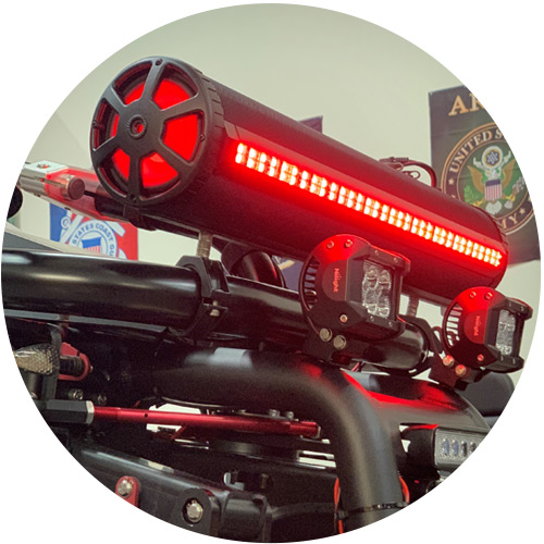terrainhopper options bazooka speaker - Options
