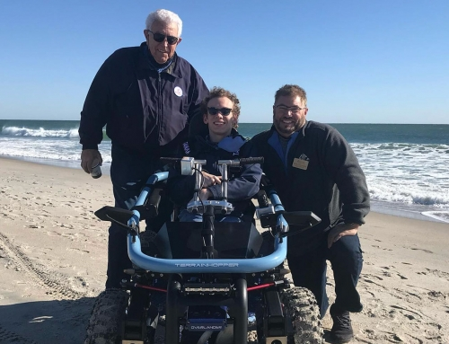 New off-road mobility vehicles help those with disabilities gain more independence