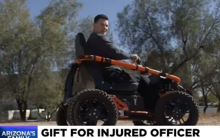 azfamily blog 320x202 - Paralyzed Peoria police officer given off-road wheelchair
